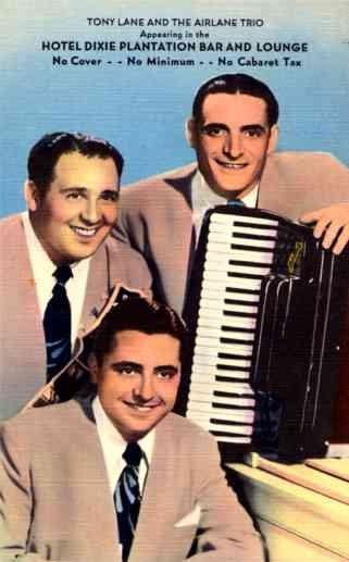 Dixie Band Trio Linen Advertising - U.S.A. - Advertising ...