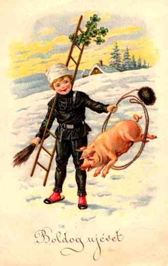 Chimney Sweep Training Piglet