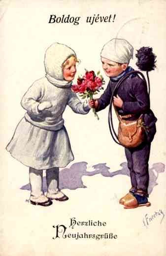 Chimney Sweep Getting Roses