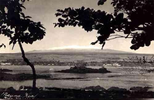 Hawaii Mauna Kea Real Photo