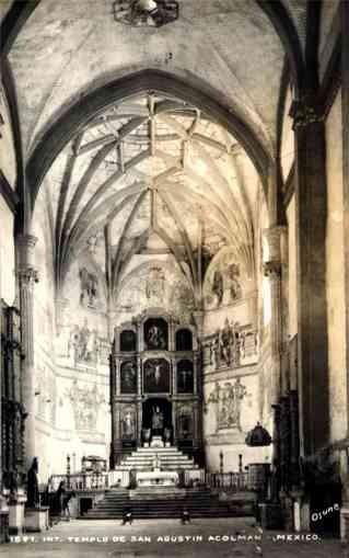 Church Interior Osuna Real Photo