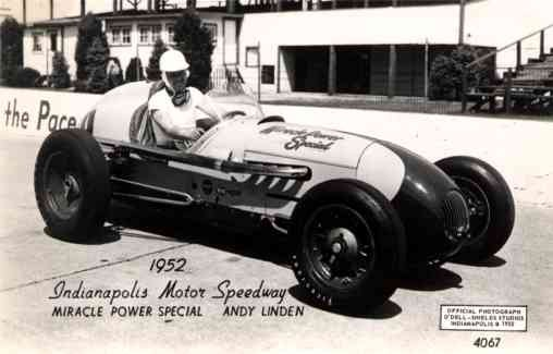 1952 Miracle Power Special Indy 500 RP