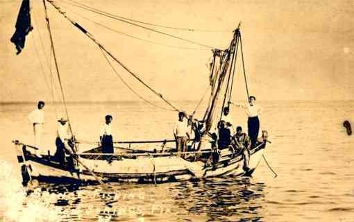 Boat Diver Real Photo FL