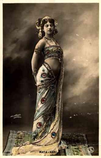 WWI Spy Mata Hari RP Novelty French