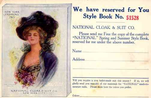 Advert Style Book Boileau Lady NYC