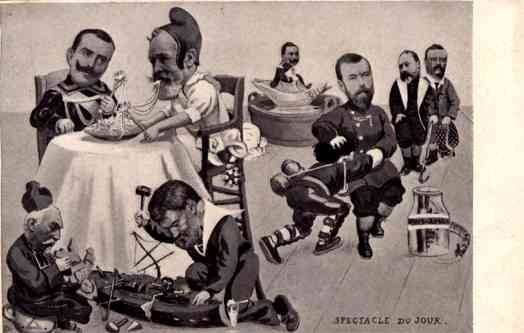 French Political Satire Roosevelt
