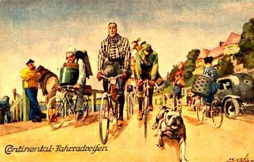 Golf Bicycling Bulldog German