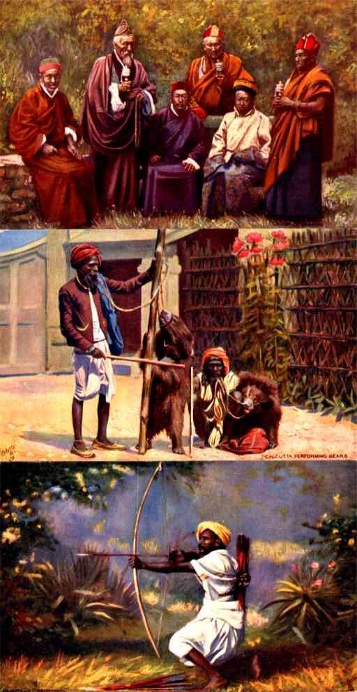 India Snake Hunting LamasTuck Set