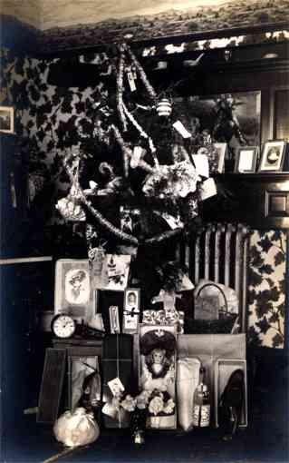 Christmas Tree Doll Wine Bottle RP