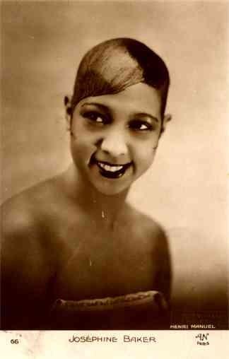 Black Josephine Baker RP French