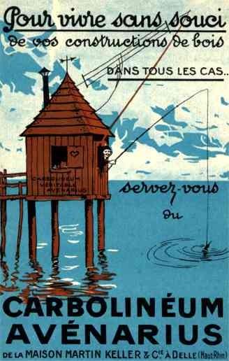 Fishing French Advertising