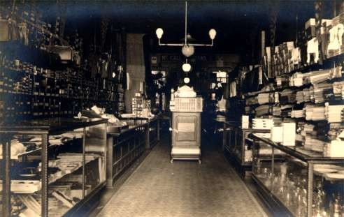 Store Interior Real Photo