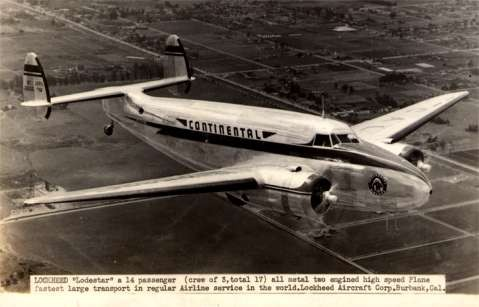 Lockheed Airplane RP Aviation CA