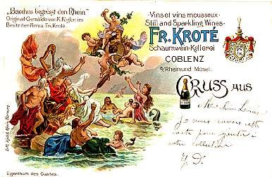 Advert Fr. Krote Wine & Mermaids