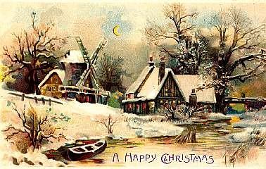 Boat & Windmill HTL Christmas