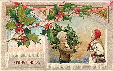 Children & Christmas Tree HTL