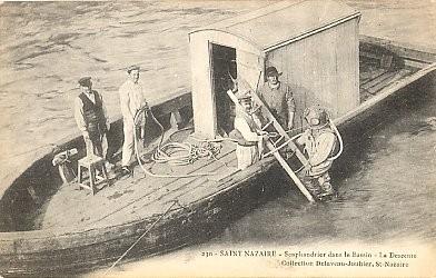Deep Sea Diver St. Nazaire