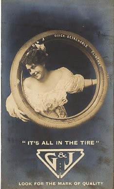 Advertisement Tire Real Photo