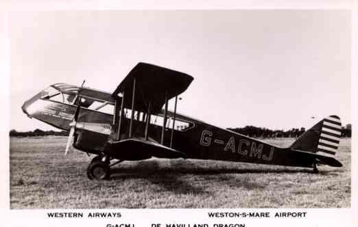 Western Airways Airplane RP
