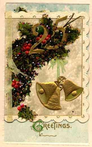 Christmas Bell Winsch Novelty