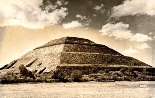 Pyramid Real Photo Mexican