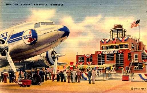 Airplane & Nashville Airport Aviation