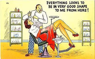 Dental Tooth Exam Comic Linen MA