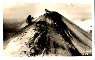WWII Pavlof Volcano Real Photo