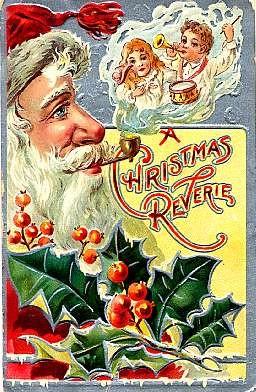 Santa Claus & Pipe Christmas