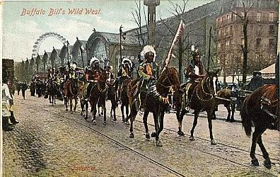 Buffalo Bills Indians Circus
