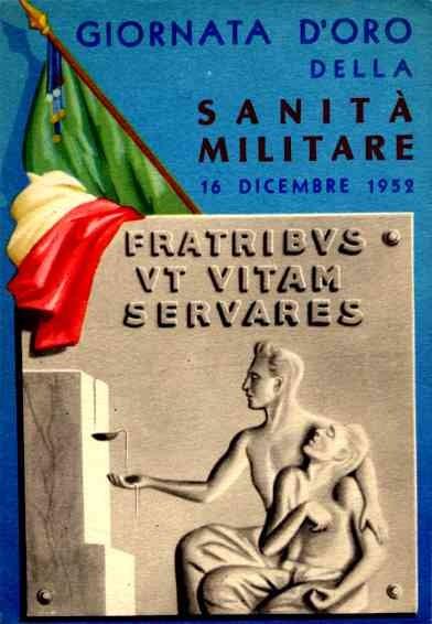 Military Medical Flag Italian