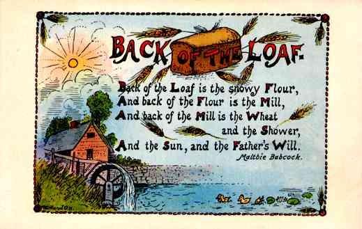 Poem Loaf of Bread Ducklings