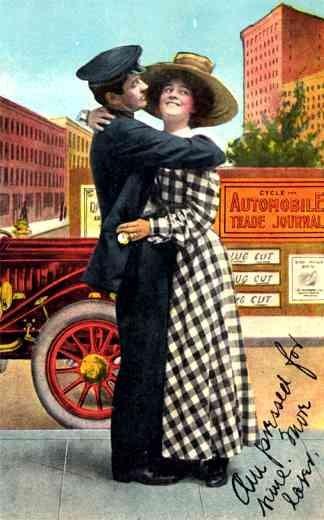 Advert Auto Trade Journal Couple
