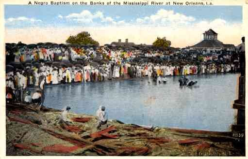 Blacks Baptism New Orleans LA