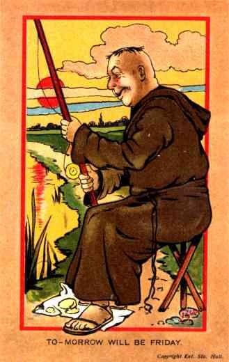 Anti-Catholic Fishing Priest British
