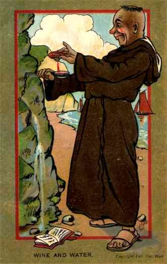 Anti-Catholic Priest Drinking