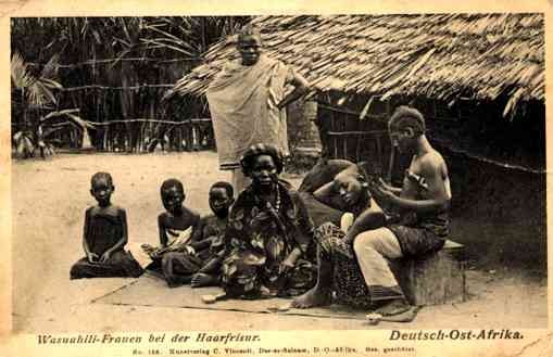African Natives Tonsorial