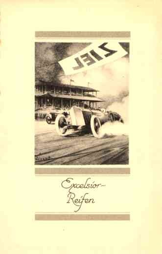 Auto Racing Advert Excelsior