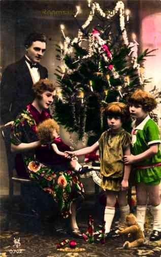 Teddy Bear Doll Christmas Tree RP