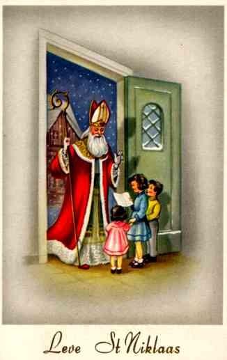 St. Nicholas Sheet Music Belgian
