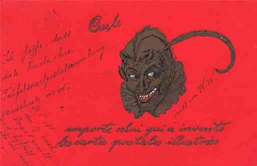Krampus Deltiology French