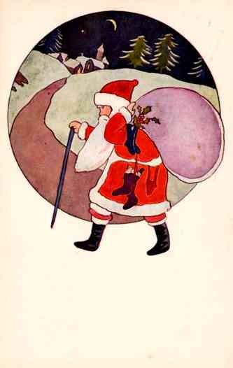 Santa Claus Dolls Christmas Japanese