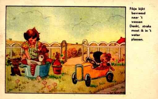 Teddy Bear Dolls Auto Dog Golliwog