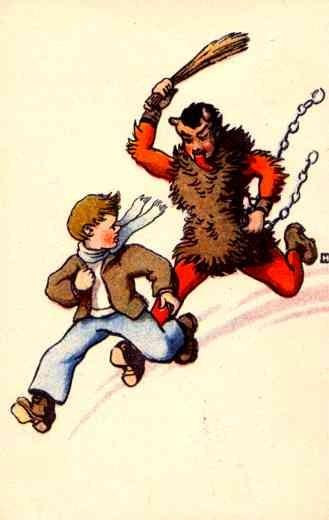 Krampus Boy Christmas Comic