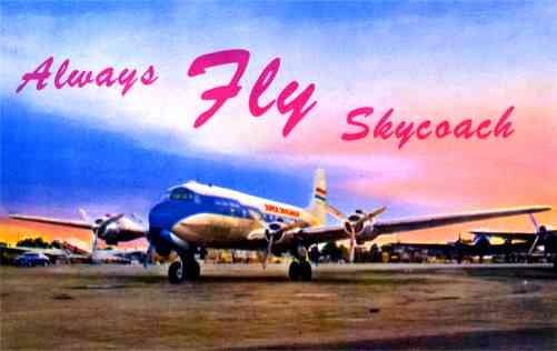 Airplane Skycoach Auto Ca