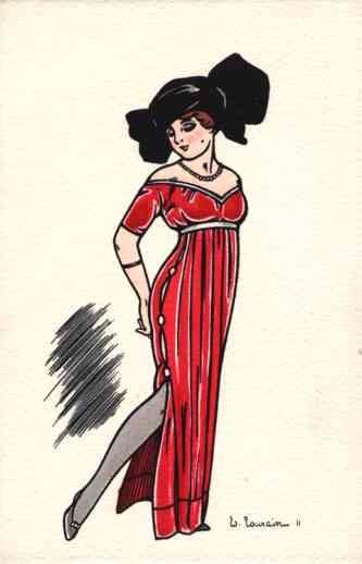 Art Deco Lady Hat