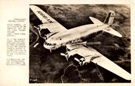 Airplane Boeing Real Photo