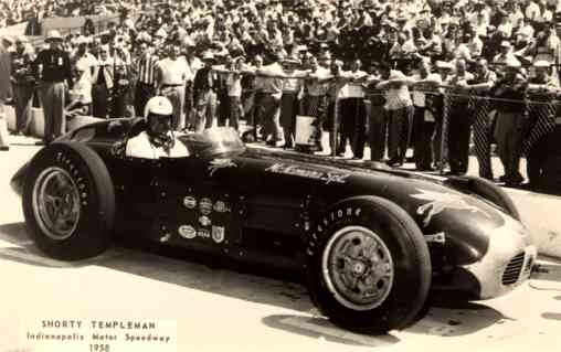 Auto Racing Indy 500 1958 RP
