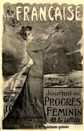 Advert Suffrage French Magazine