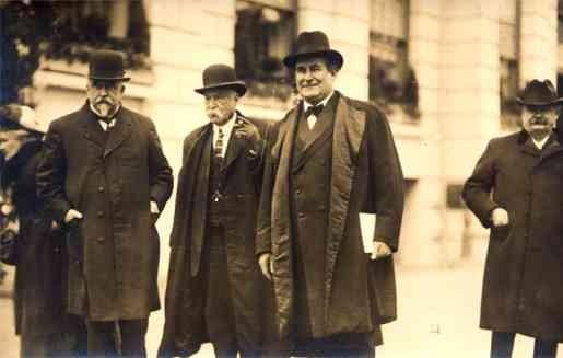 Democrat Bryan Inauguration Wilson 1913 RP